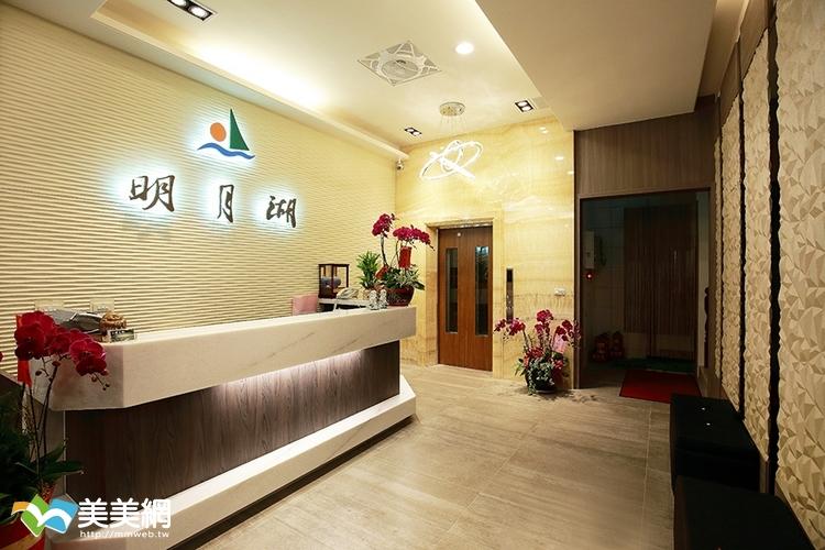 日月潭民宿-明月湖旅店一樓大廳