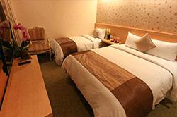 標準雙人房(一大床)