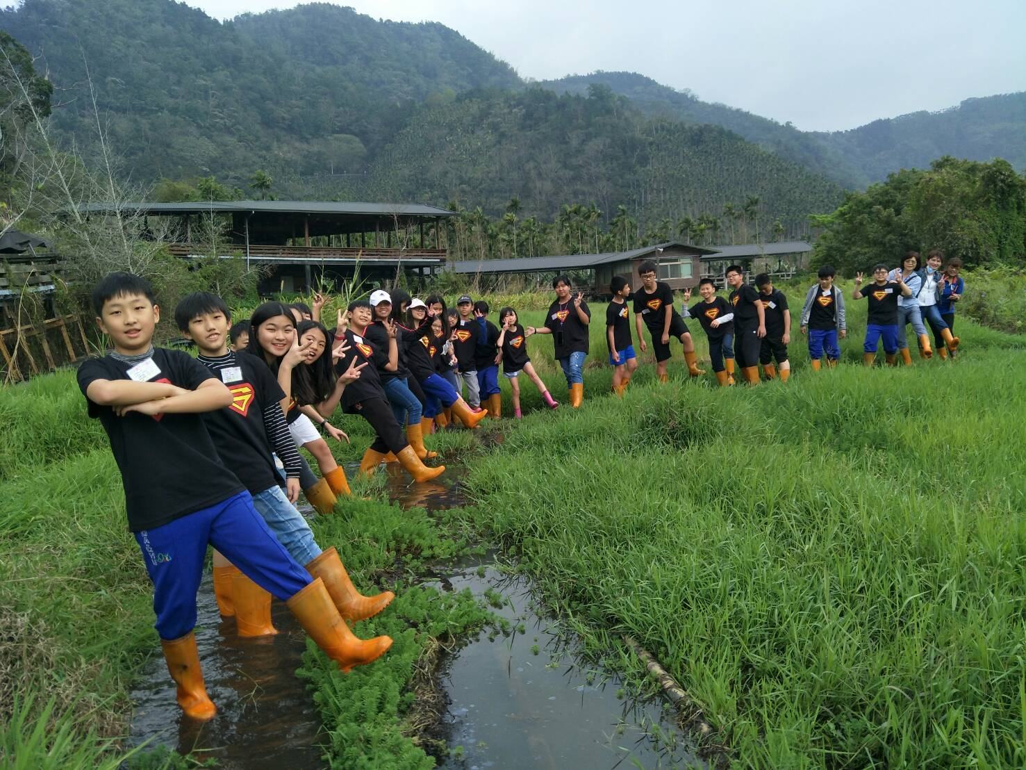 新增景點 濕地水生植物 教育園區