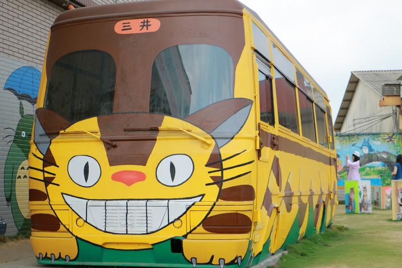 西螺龍貓公車