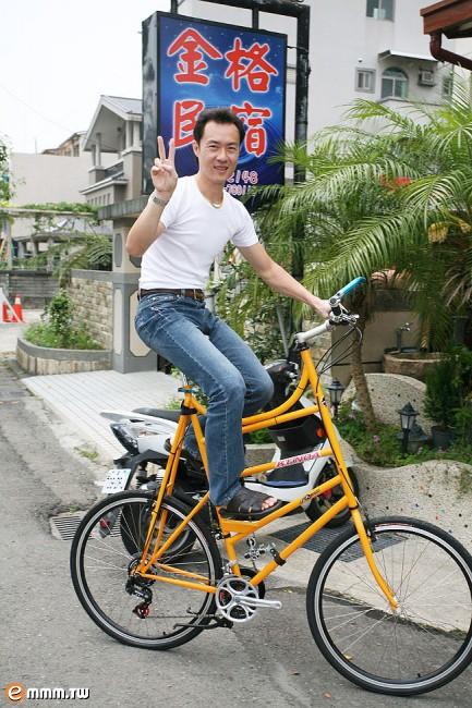 來看最大台的單車唷!