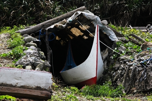 Houses of canoes