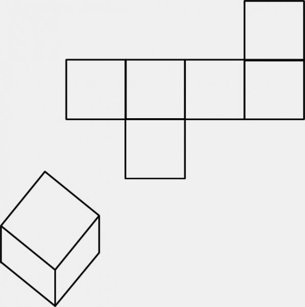 正方体的展开图