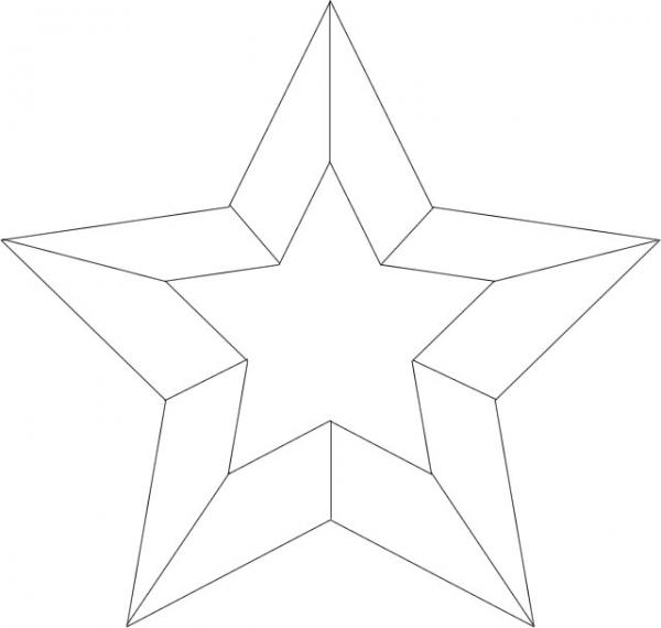 星星立体图