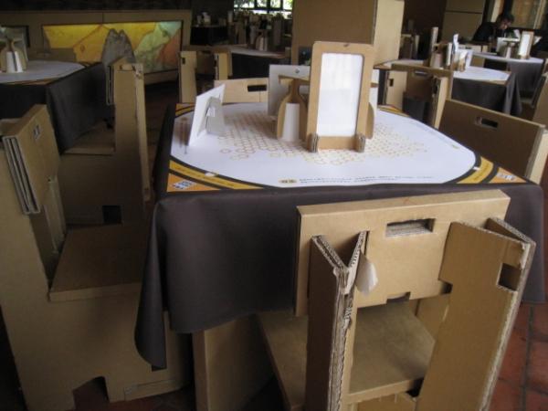 纸箱做桌子的步骤图片