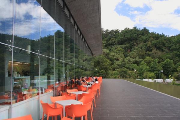 日月潭向山遊客中心-喝咖啡