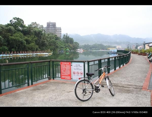 水社自行車道起點處