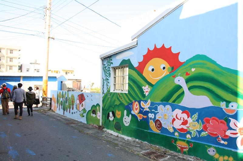 雲林景點-台西彩繪藝術村